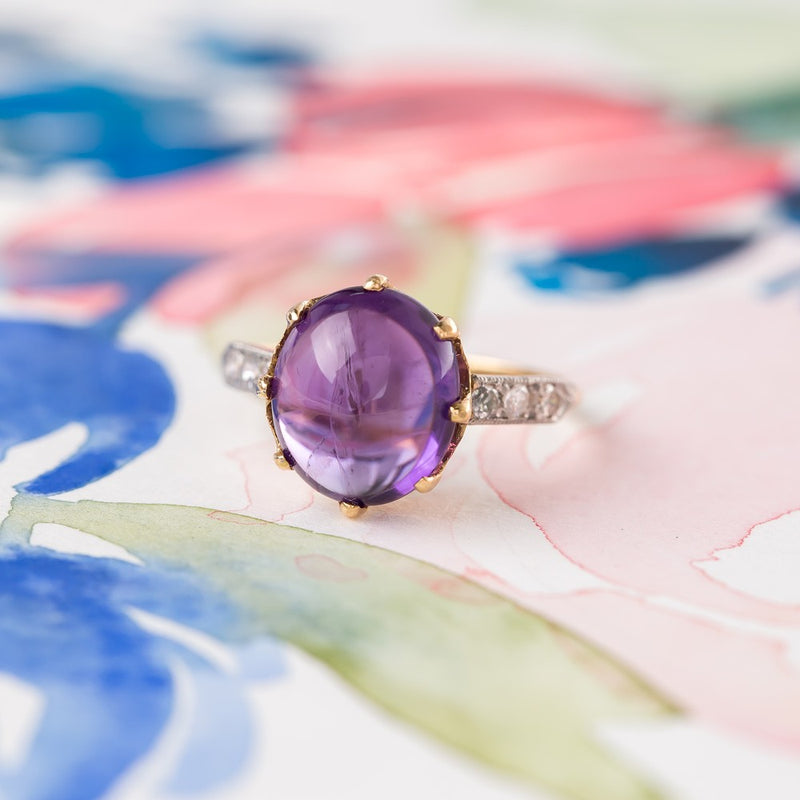 Swooning for Amethysts in February!