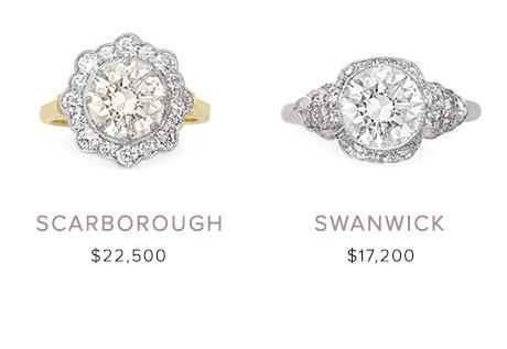 Vintage Engagement Rings January 10