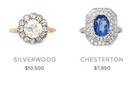 vintage engagement rings January 17