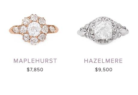 Vintage Engagement Rings April 4