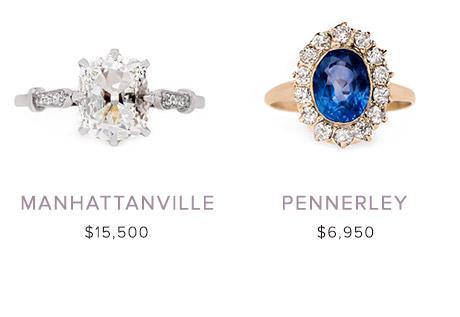 Vintage Engagement Rings: November 1