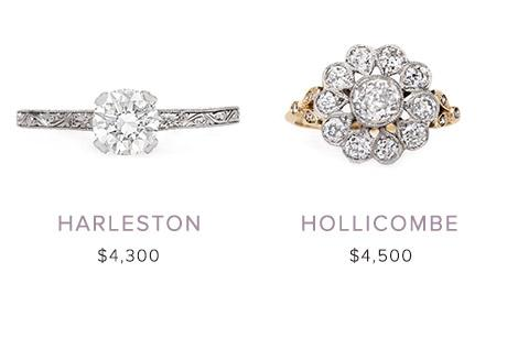 Vintage Engagement Rings: December 20