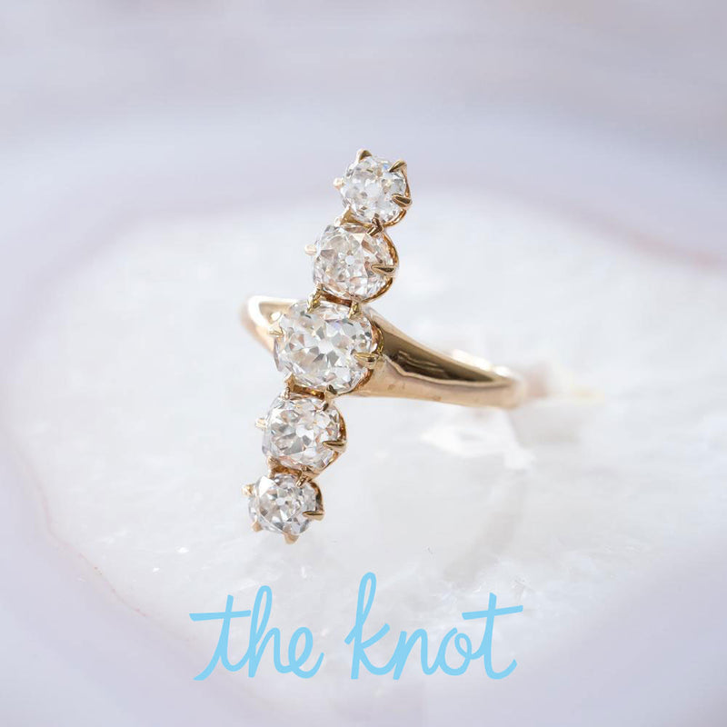 The Knot Features Trumpet & Horn: Alternative Engagement Rings