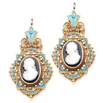 Vintage Georgian Earrings