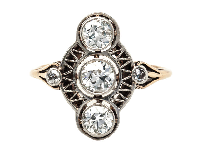 unusual antique engagement ring