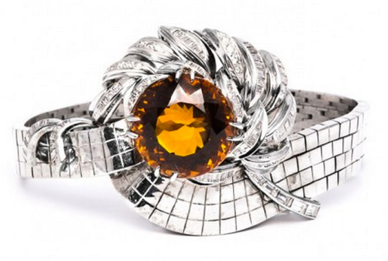 citrine engagement ring another ring