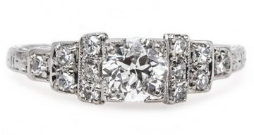 artdeco diamond ring