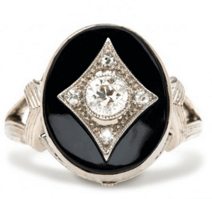 Art Deco Engagement Rings