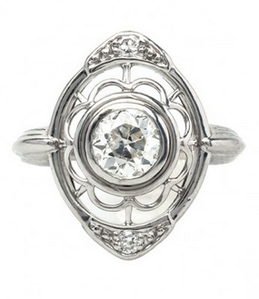 Floral Shape Ring