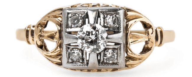 vintage-retro-two-tone-yellow-white-gold-diamond-wheat-ridge