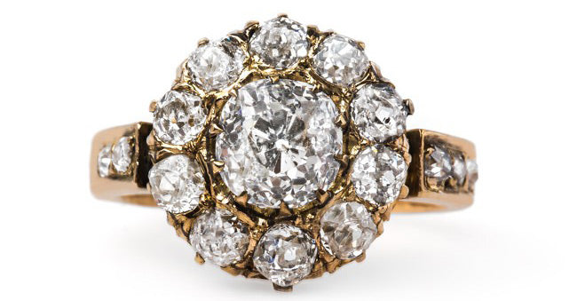 Vintage Victorian Cluster Ring | Haven Lane