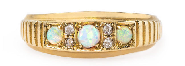 Vintage Victorian Opal with English Hallmarks | Kenley
