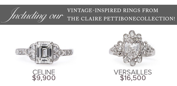 claire pettibone vintage inspired rings