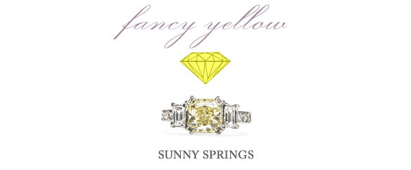 fancy yellow ring collection