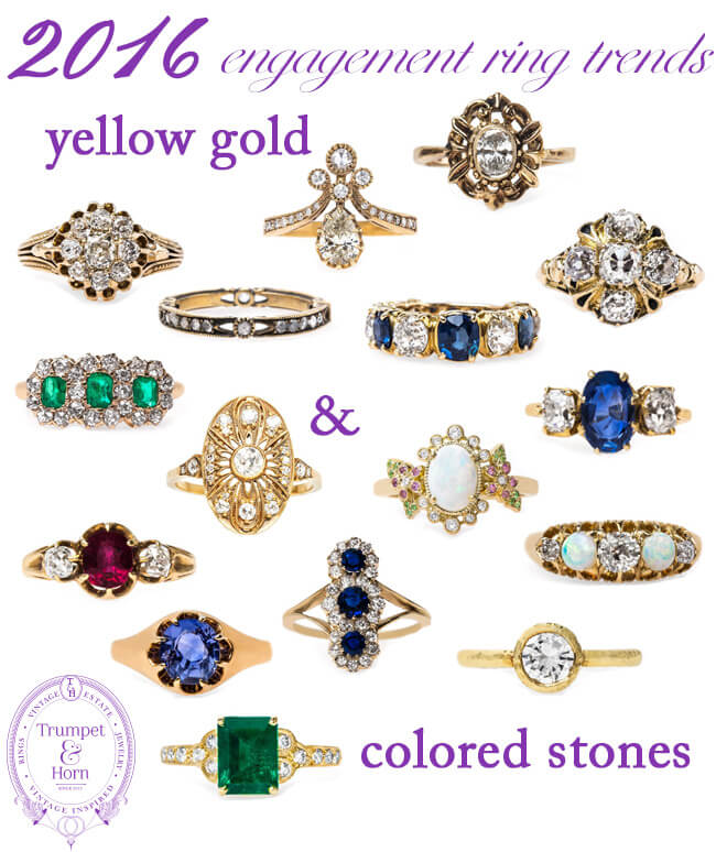 2016 engagement rings trend