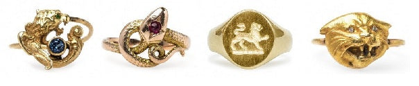 Animal engagement rings