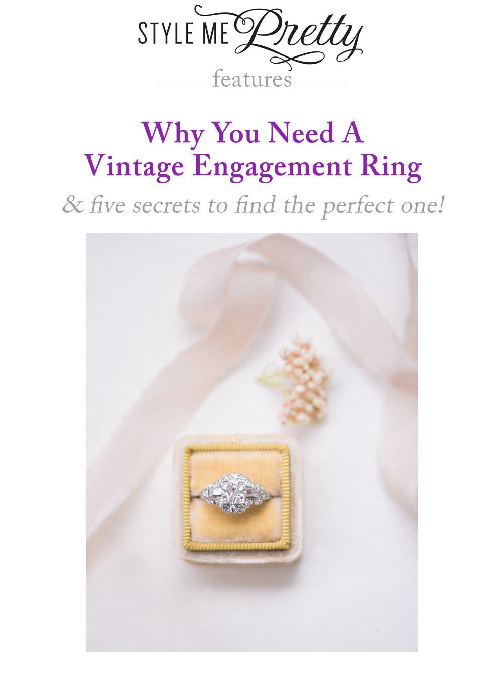 style-me-pretty-vintage-engagement-ring-trumpet-horn0-shopping-tips