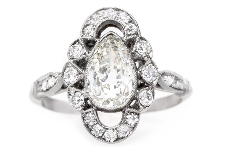vintage-edwardian-era-unique-pear-shaped-diamond-engagement-ring-middlebrook