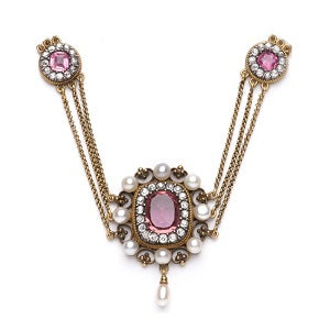 antique tourmaline necklace