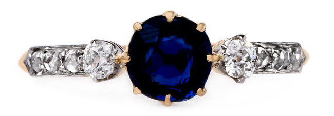 vintage-art-nouveau-sapphire-old-mine-cut-diamond-castillo