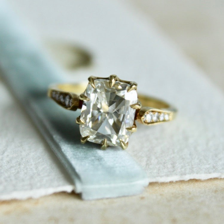 Meridian | Vintage Engagement Ring Antique Engagement Ring