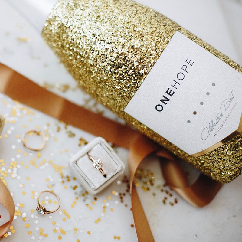 OneHope Wine | Vintage engagement rings wine charity