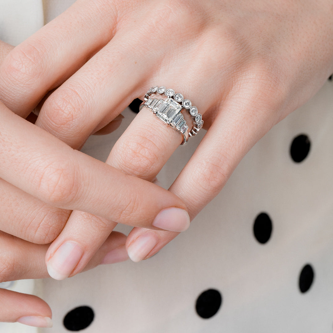 How to Pair Your Vintage Engagement Ring with a Wedding Band ...