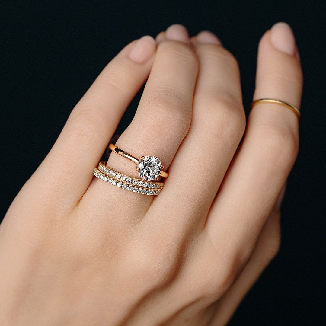 How To Pair Your Vintage Engagement Ring With A Wedding Band