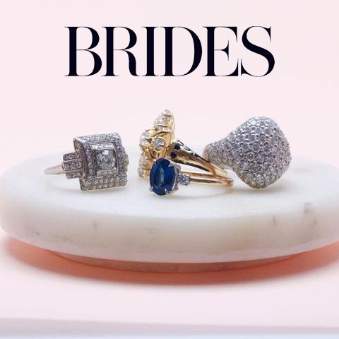 engagement rings from Trumpet & Horn