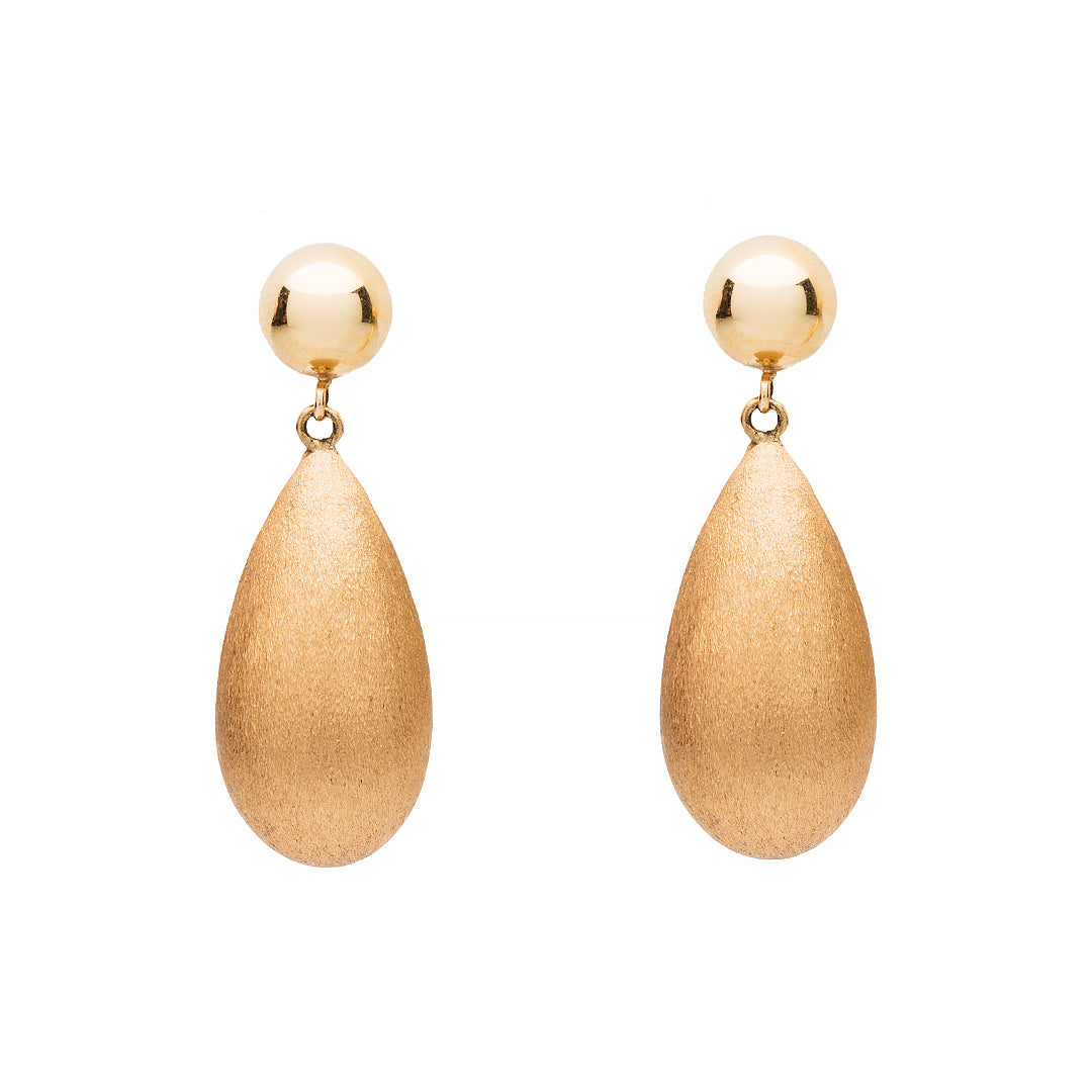 Almond Drop Earrings