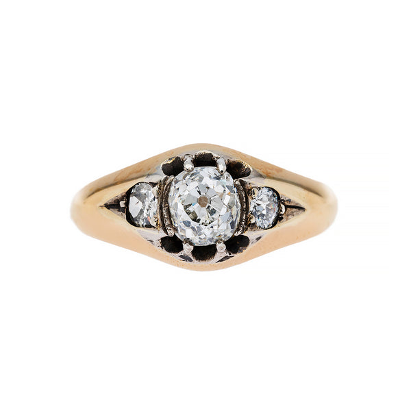 Beddingham | Antique Victorian Vintage Diamond Engagement Ring
