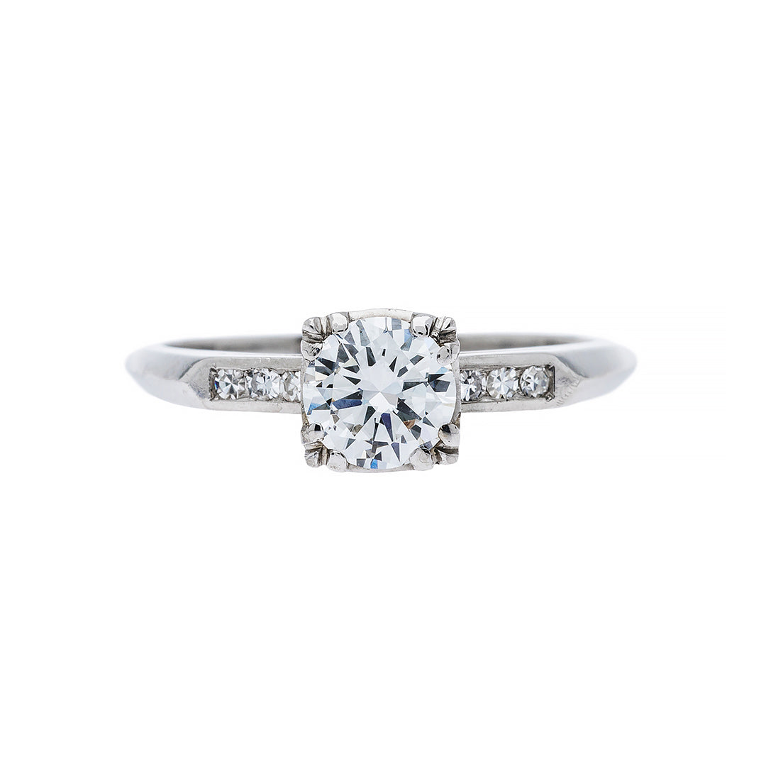 Timeless Vintage Engagement Ring | Cascade
