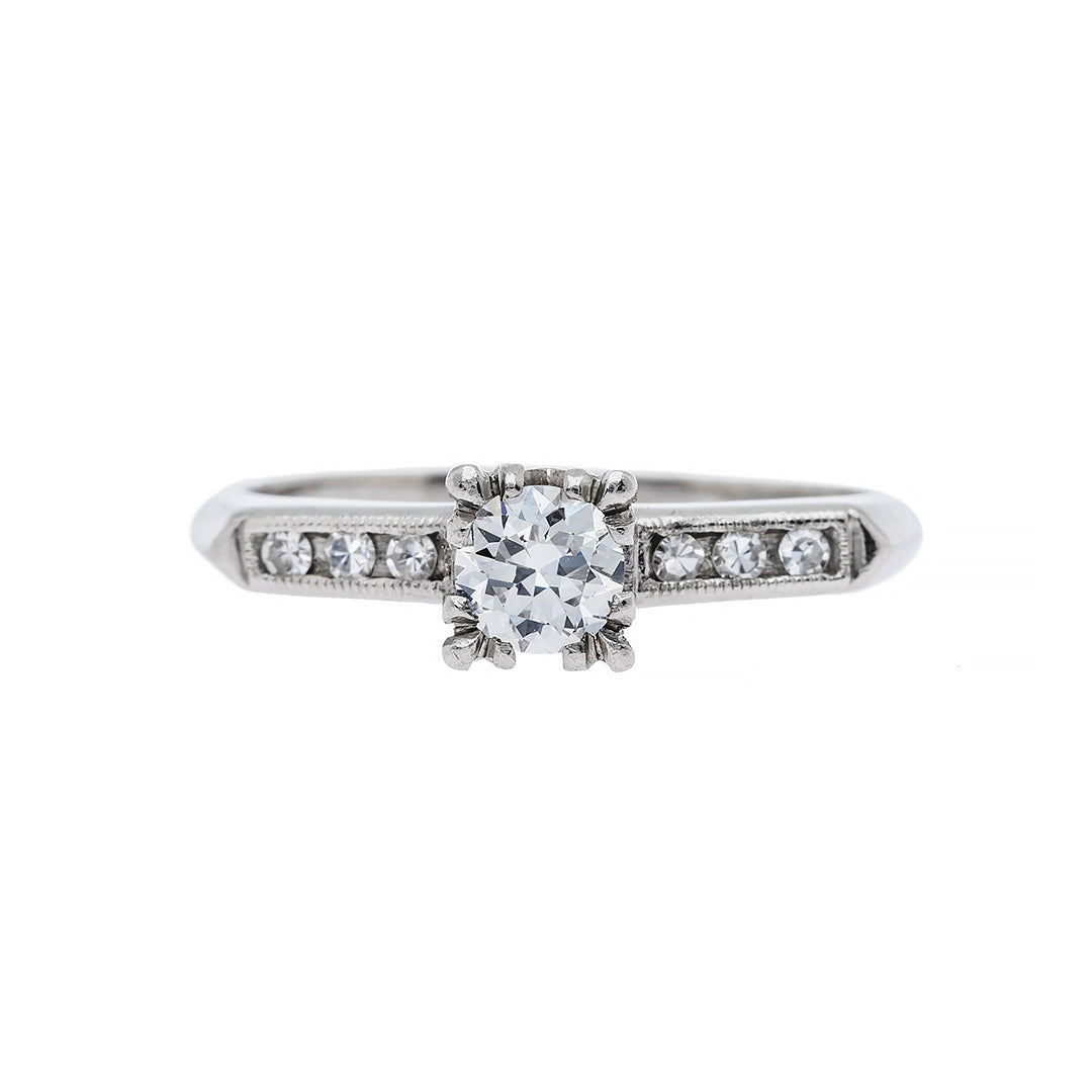 Affordable Vintage Art Deco Engagement Ring | Dorset