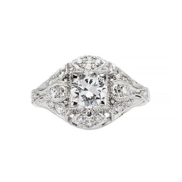 Johannesburg | Edwardian Inspired Diamond Engagement Ring