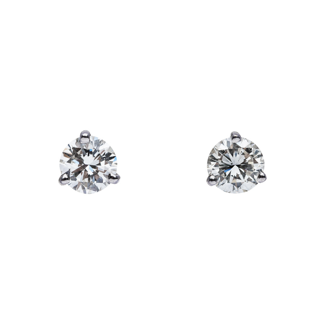 Martini Studs 0.85ct Total Weight