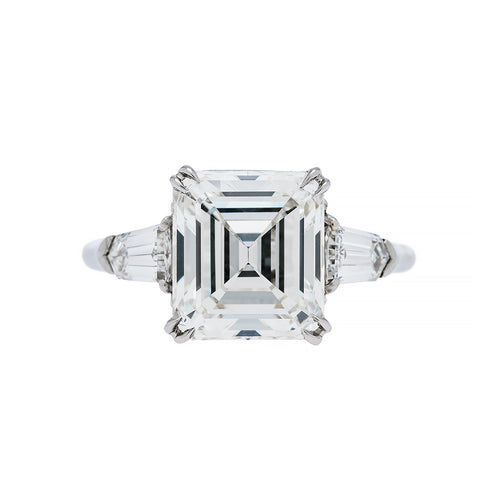 Emerald Cut Diamond Ring | Park Avenue