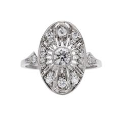 Deposit on Platinum Peachtree ring