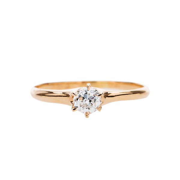 Classic Victorian Solitaire Engagement Ring | Penselwood
