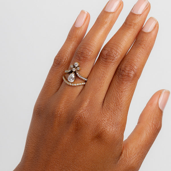 Rose Gold Curved Bonaventure