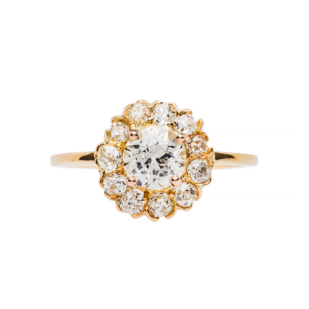 Delicate and Classic Victorian Era Halo
