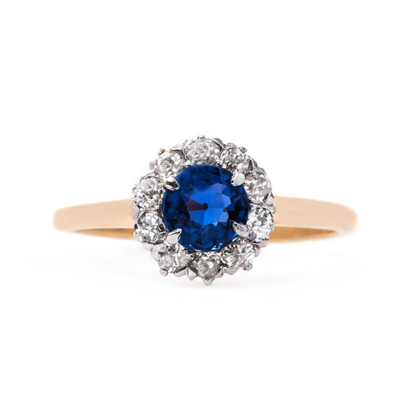 Bright Blue Sapphire Engagement Ring | Walworth from Trumpet & Horn