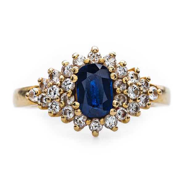 Clever and Unique Sapphire and Diamond Ring | Archbold from Trumpet & Horn