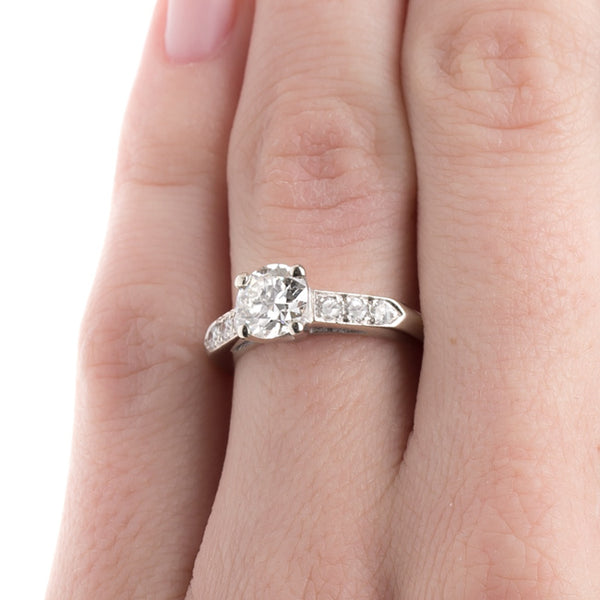 Vintage Engagement Ring | Vintage Diamond Ring | Arlington from Trumpet & Horn