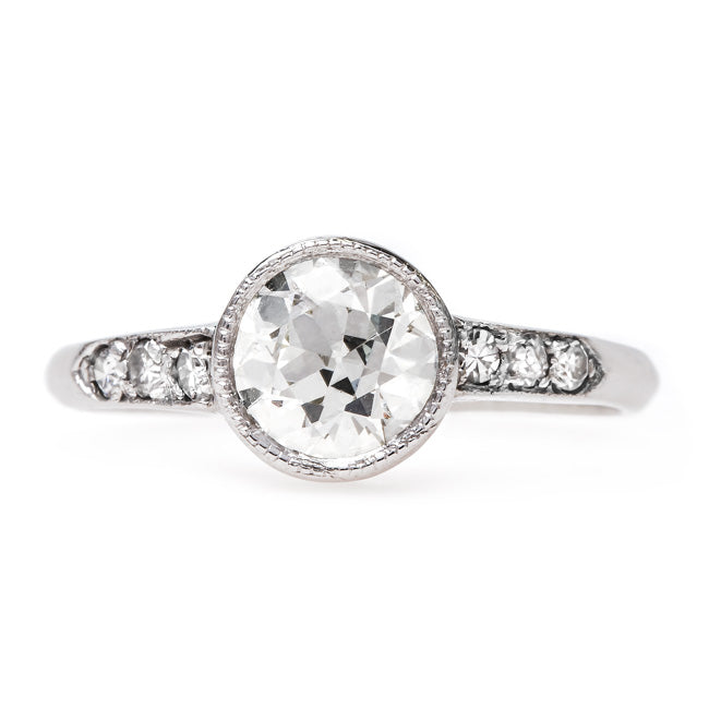 Classic Art Deco Engagement Ring | Ashland from Trumpet & Horn
