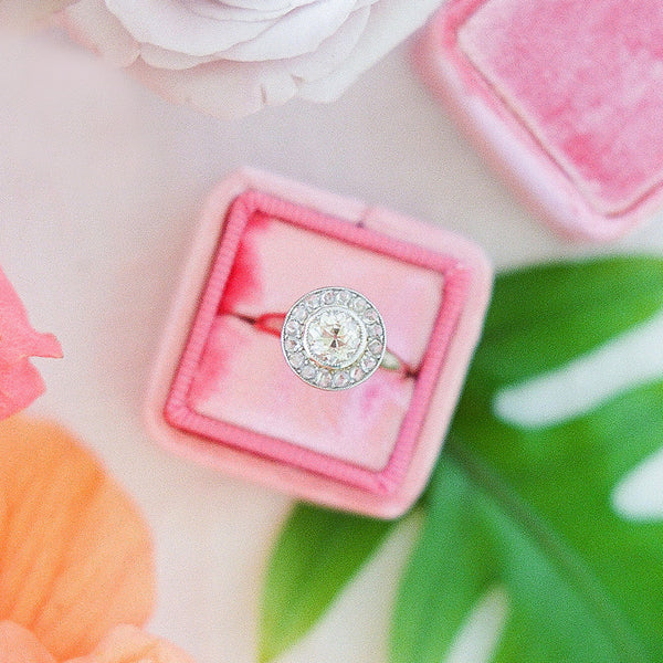 Antique Rose Cut and Old Mine Cut Diamond Ring | Photo by Ashley Goodwin