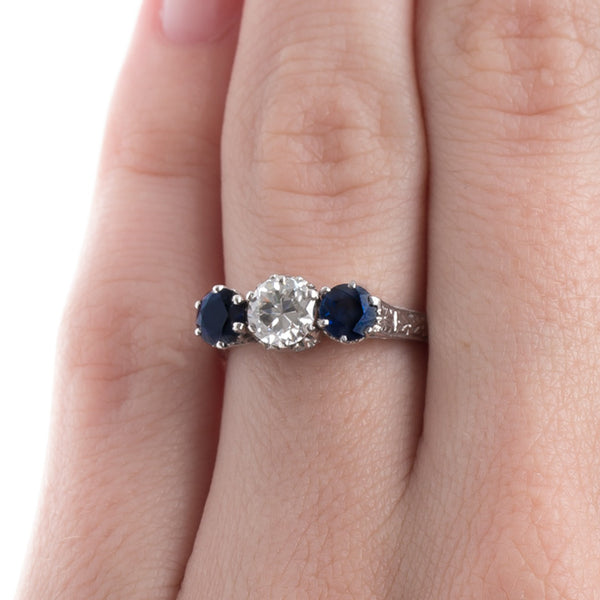 Charming Mid Century Sapphire Ring | Avon Lake from Trumpet & Horn
