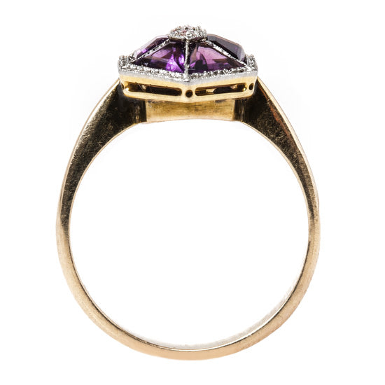 Unique Amethyst Engagement Ring | Ballard from Trumpet & Horn