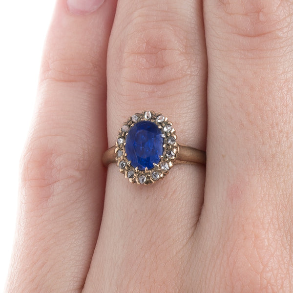 Antique Unheated Sapphire Ring | Bellowsfalls from Trumpet & Horn