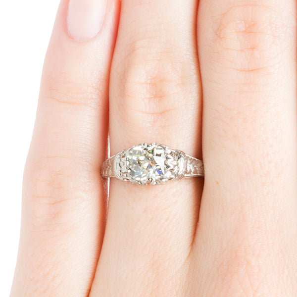 Edwardian Engagement Ring | Vintage Engagement Ring