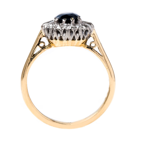 Wear a Charming Sapphire Engagement Ring | Bluesky from Trumpet & Horn